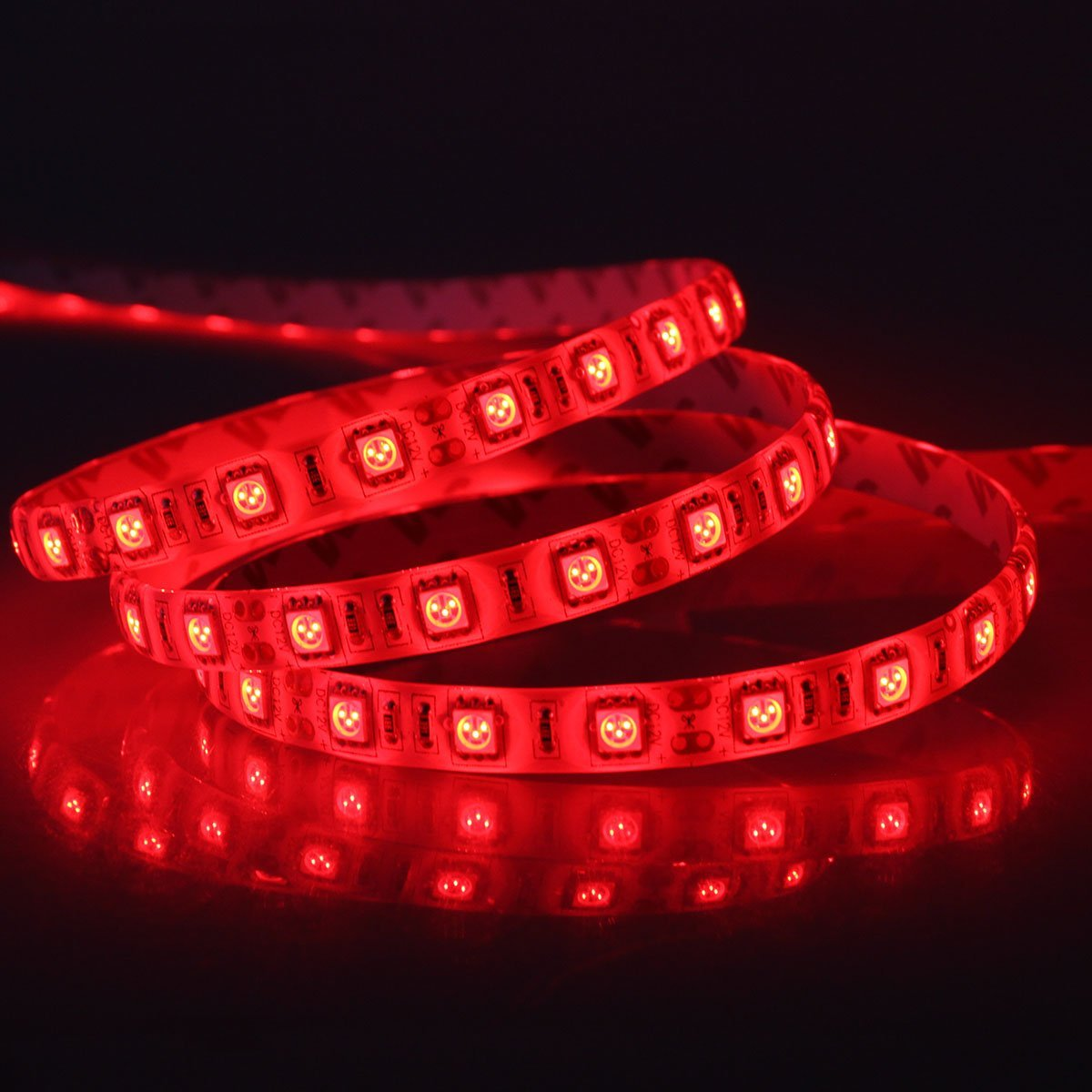 Red 5M Waterproof 300 LED 5050 Strip Light
